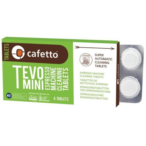 Cafetto Tevo Biologische Reinigingstabletten Accessoires Onderhoud